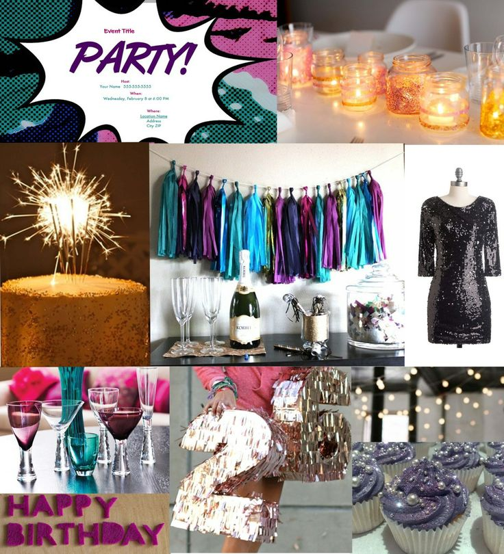 Adult Birthday Party Ideas | belovely blog