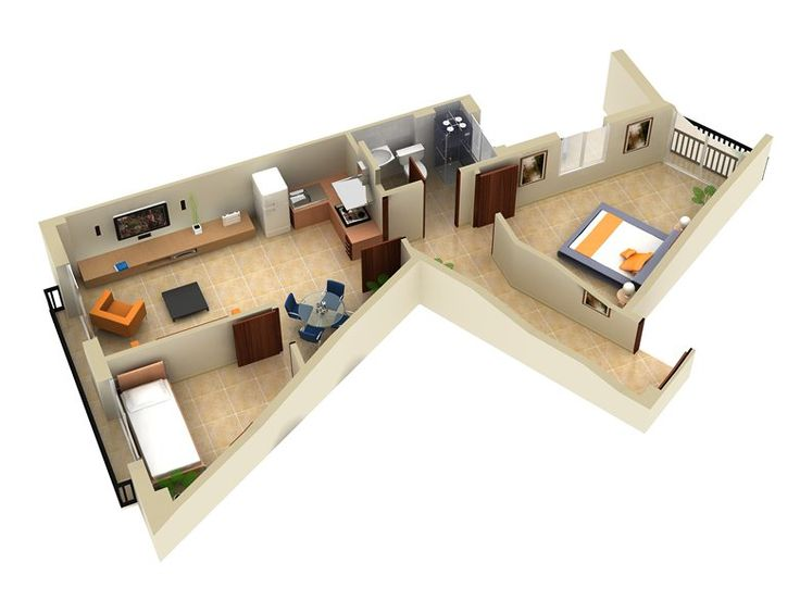 3D Floor Plans Design: 3d House Floor Plans Modeling U0026 Rendering