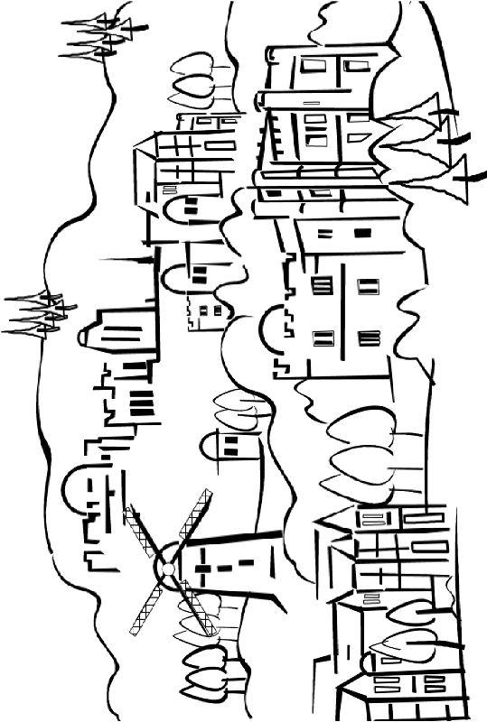 דפי צביעה להורדה - חגים ומועדים - יום ירושלים - נופי ירושלים - אמוס ישראל - עבודות יצירה יצירות לקיץ חימר קל מלאכת יד