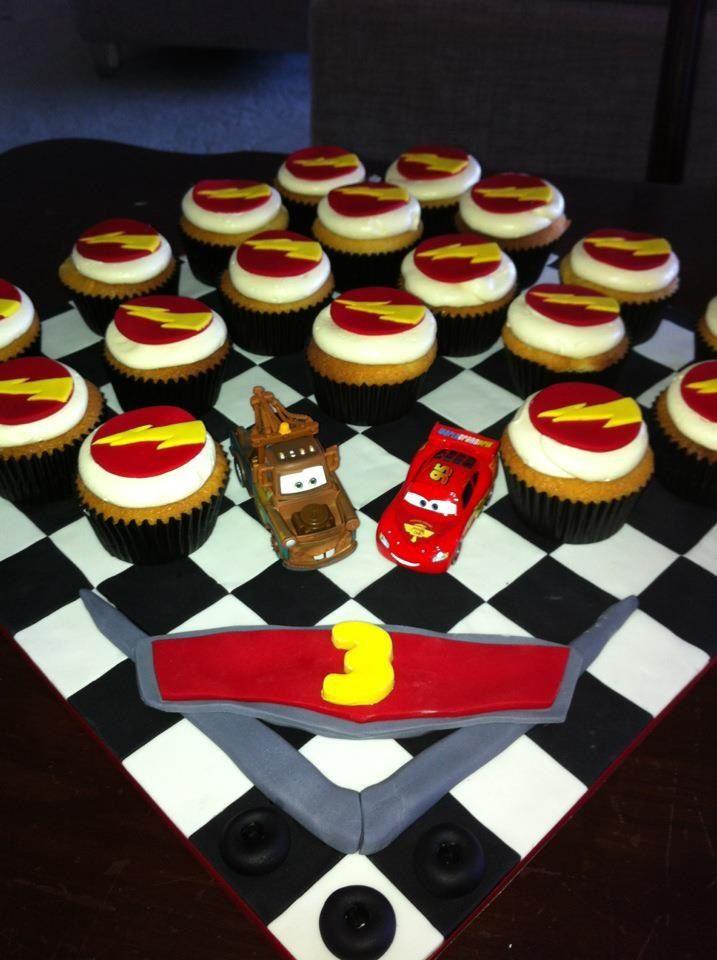Movie Cars cake