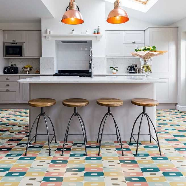 50 unique kitchen flooring ideas for a lively step houseminds in 2020 modern kitchen on kitchen flooring ideas id=41883