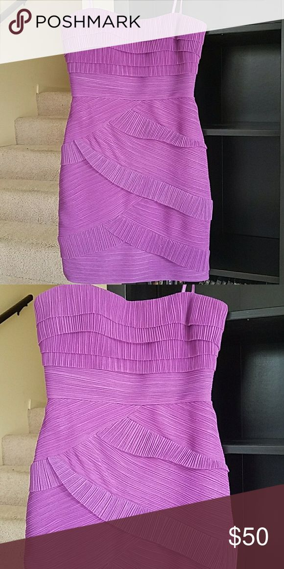 BCBG dress Beautiful lavender cocktail dress BCBG Dresses Mini