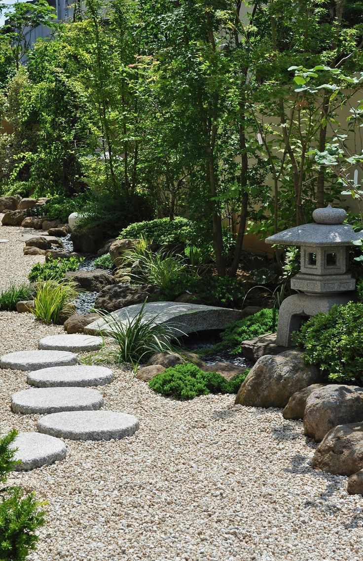 Veja dicas essenciais de plantas e elementos para compor um belo jardim japonês. São 60+ fotos para se inspirar.