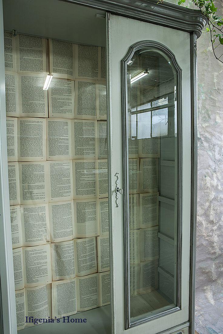 Vintage bookcase / refurbished