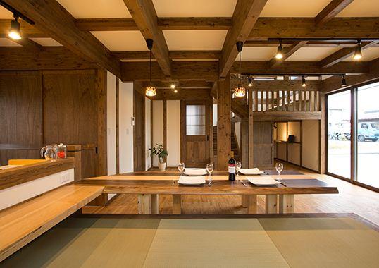 畳ダイニングで育む家/サイエンスホーム