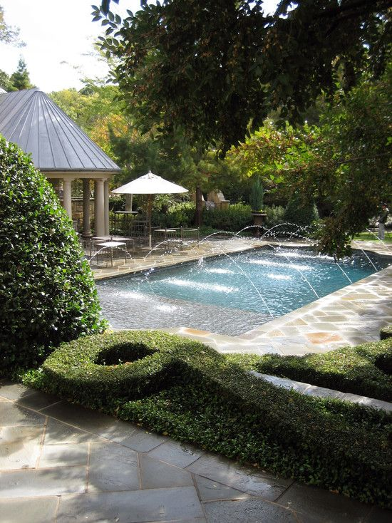 The 25 best pool water features ideas on pinterest pool - Swimming pool water feature ideas ...