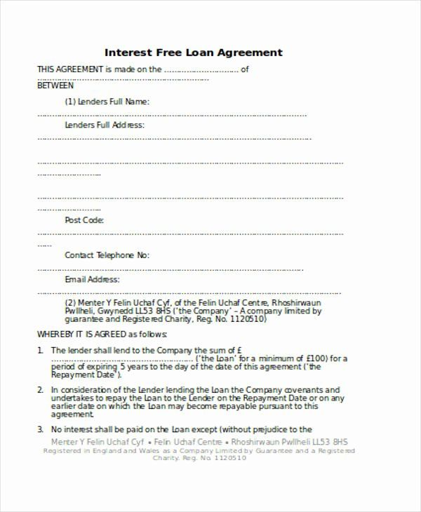 Personal Loan Forms Template Elegant Free 56 Loan Agreement Form In Template Pdf In 2020 Personal Loans Loan Incentives For Employees