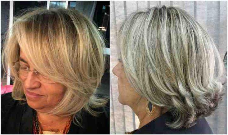 Modische Frisuren für Frauen über 50 und Haarfarben, die Sie jünger machen