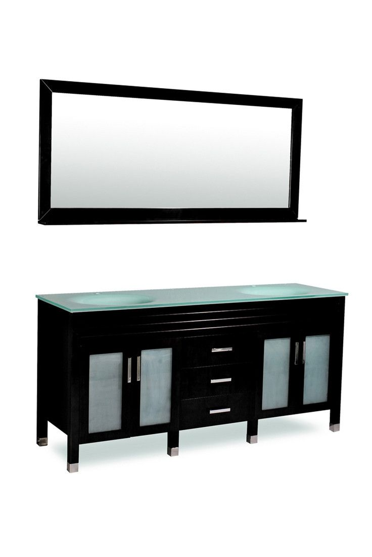 1000 ideas about frosted glass door on pinterest glass - Bathroom vanity with frosted glass doors ...