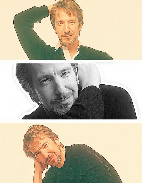 Only Love Alan Rickman (re-pinned from Rickmaniacs)