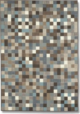 Gray/blue/brown Rug Wish This Was Glass Mosaic Tile Backsplash For My  Kitchen