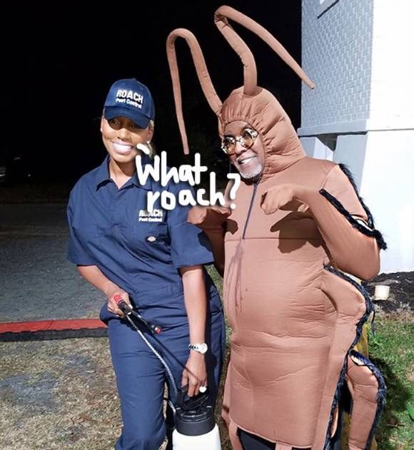 NeNe Leakes Takes Shots At Kim Zolciak & Daughter Brielle With THIS Roach Halloween Costume!