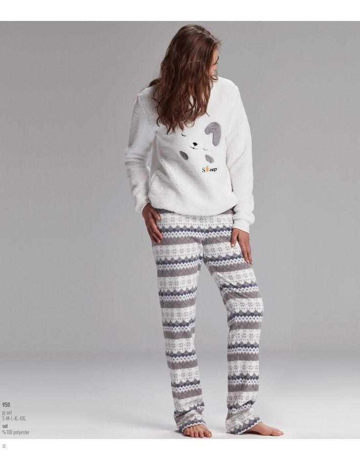 Catherine's 950 Bayan Pijama Takım https://www.mark-ha.com/bayan-pijama-takim  #BayanPijama #OnlineBayanPijama #2017BayanPijama #BayanGiyim #EvGiyimi #KışlıkBayanPijama #YeniSezon #Sonbahar #markhacom #Evkeyfi #Ekru #Desenli