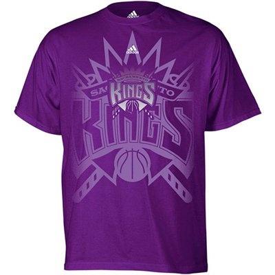 adidas Sacramento Kings 2011 Official Draft Day T-Shirt - Purple