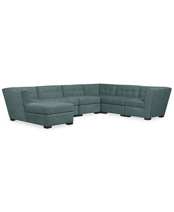 Roxanne Fabric Modular Living Room Furniture Collection, Only at Macy's | macys.com