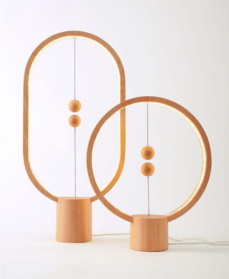 Heng, la lámpara con encendido magnético de Zanwen Li