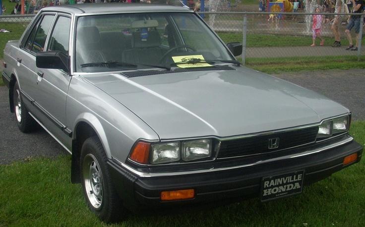 Honda Accord Sedan  En omdat Honda zo goed beviel, na 1,5 jaar het nieuwste model.