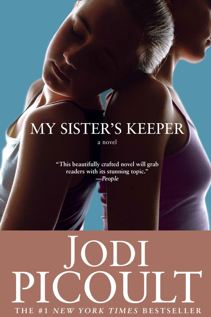 """<i><a href=""""https://www.amazon.com/dp/0743454537/?tag=buzz0f-20"""" target=""""_blank"""">My Sister's Keeper</a></i> by Jodi Picoult"""