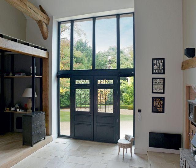 Magnifique porte d 39 entree porte d 39 entree pinterest for Decoration porte maison