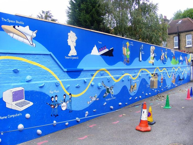 201 best lewisham public street art images on pinterest for Mural school
