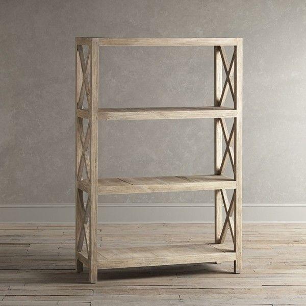 Birch lane merrick etagere 3 shelf bookcase