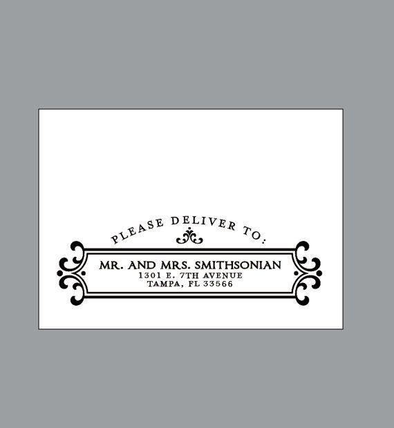 Digital Calligraphy Envelope Printing  by JKDesignOrlando on Etsy