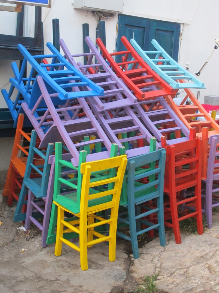 Chairs from Mavi Bar