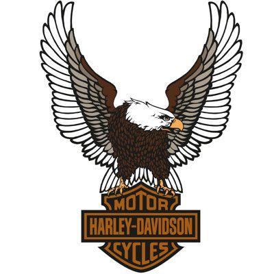 Harley Davidson Eagle Logo Fathead Harley Davidson Wall