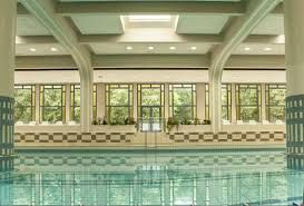 Indoor swimming pool at Vittel Club Med Le Parc (France