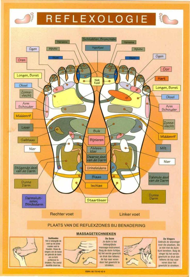 Acupressure points | Voetreflexmassage