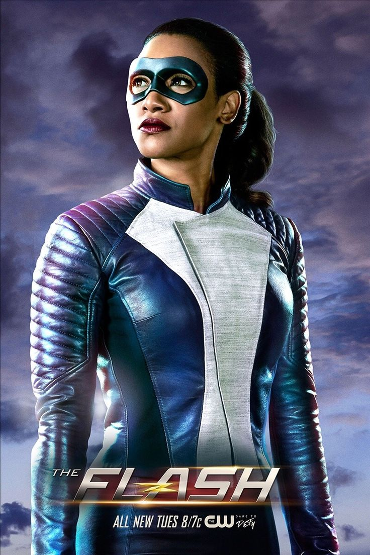 "The Flash - First look at Iris as a speedster. ""Run, Iris, Run"" airs March 13"