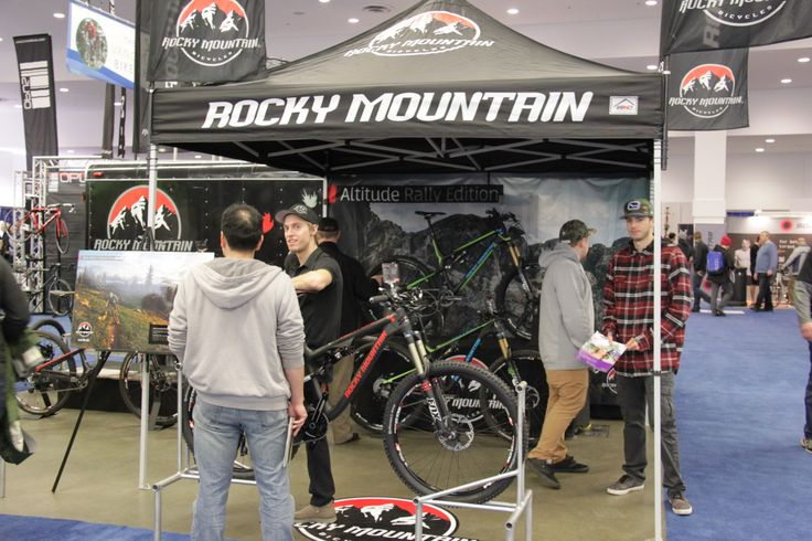 New technology from #RockyMountain @Vancouver Bike Show