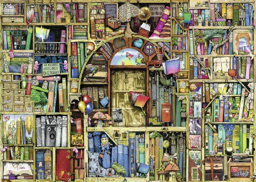 Magisches Bucherregal Puzzle Von Ravensburg Books And More Ii Pinterest Bucher Puzzle And Ravensburger Puzzle