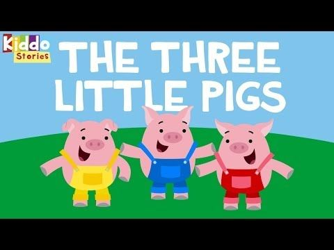 Fairy Tales - The 3 Little Pigs Story - YouTube