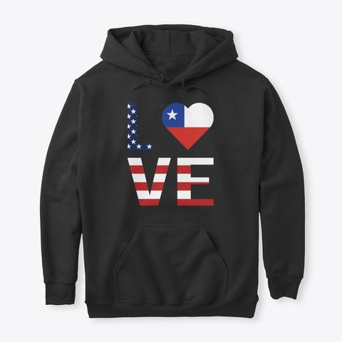 Usa Chile Flag Heart Products | Teespring