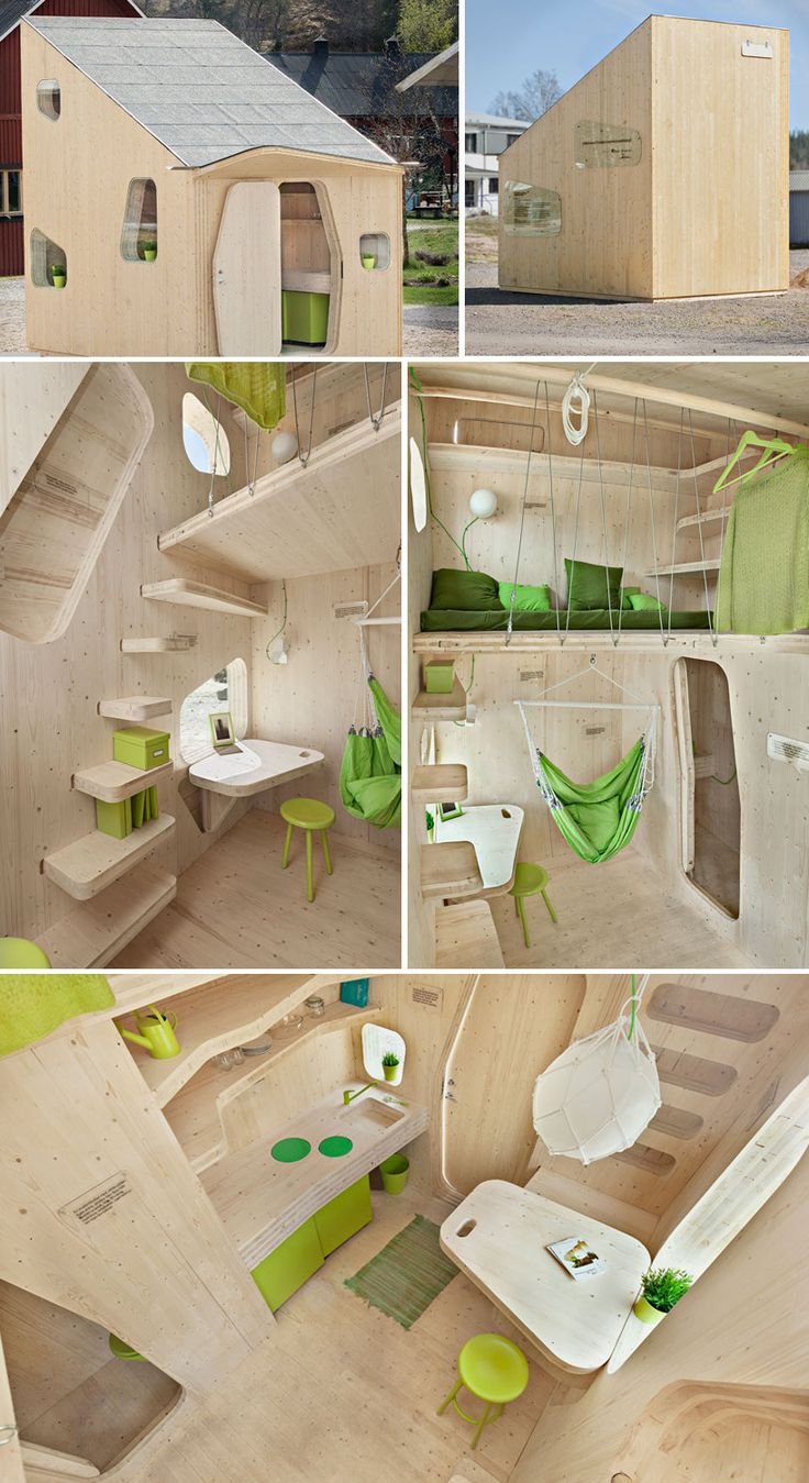 Swedish Architectural Firm Tengbom Has Come Up With A Creative New  Accommodation Model That Squeezes Student