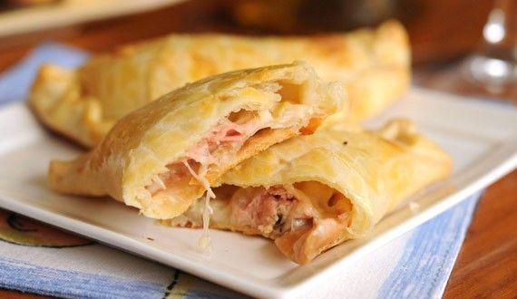 Empanadas de Machas a la Parmesana - Gourmet, el placer de comer bien