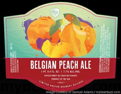 mybeerbuzz.com - Bringing Good Beers & Good People Together...: Samuel Adams Adding Belgian Peach Ale 750ml Bottle...