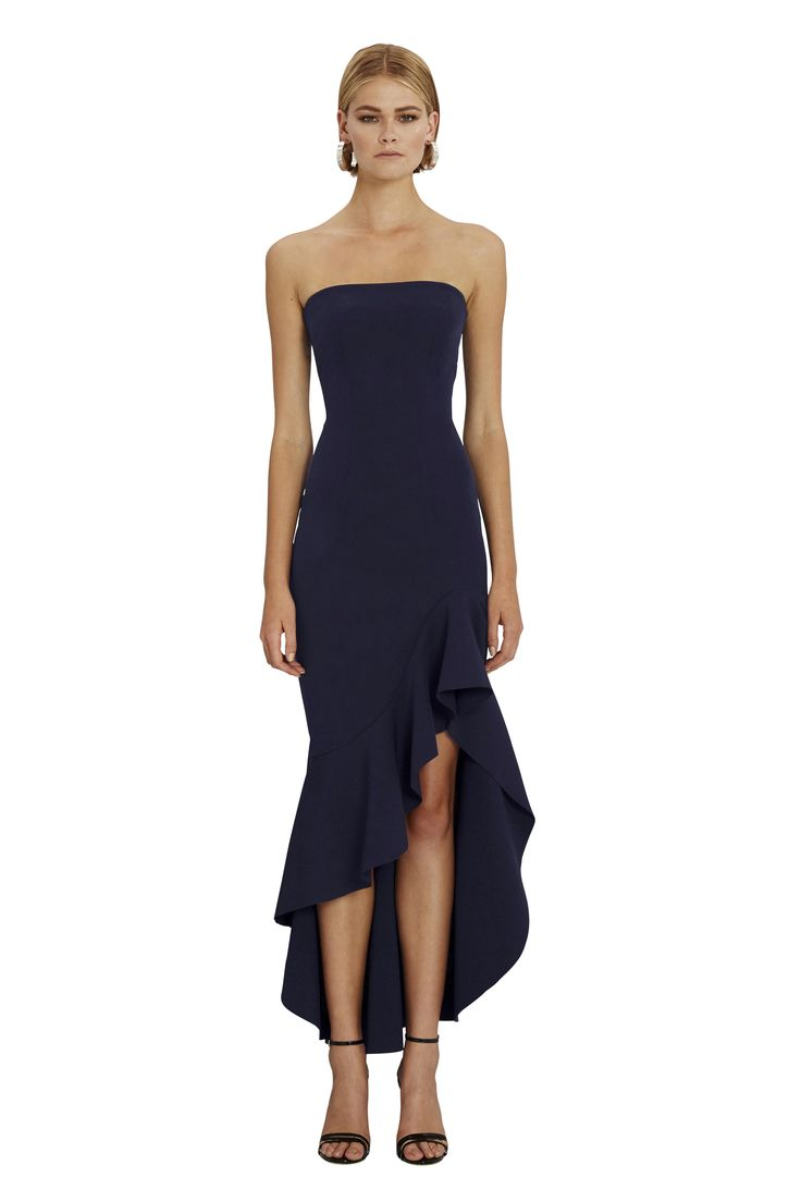 BY JOHNNY. Strapless Wave Gown | Pre-Order | Contemporary Australian Womenswear