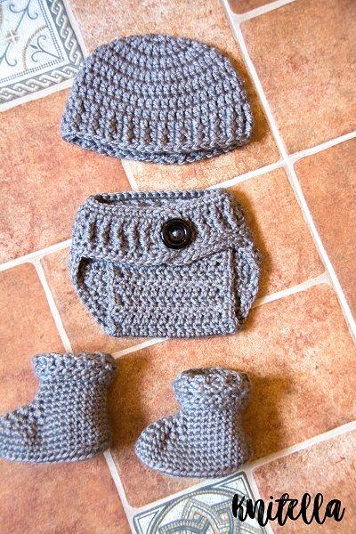 Crochet Newborn Set Free Crochet Pattern Baby Crochet