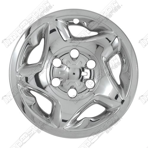 "Toyota Tundra  2000-2002 Chrome Wheel Covers, 5 Star Directional (16"" Wheels)"