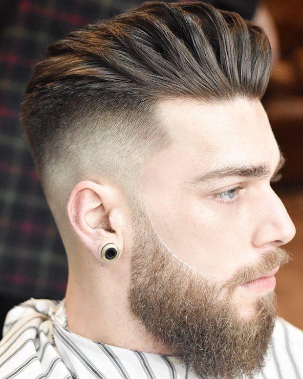 Sharp Fade Men Short Haircut 2018 Herrenmode