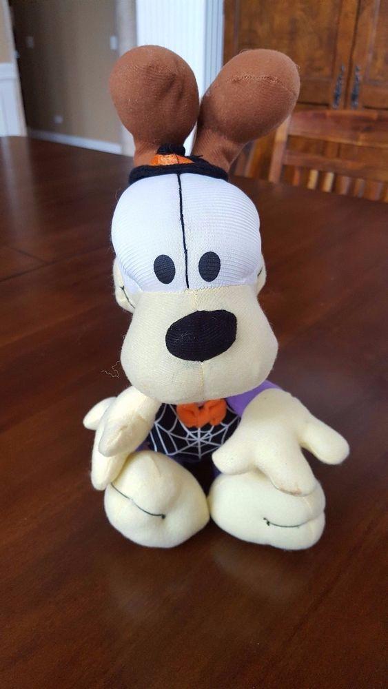 Garfield And Friends Odie Halloween Plush Nanco Paws