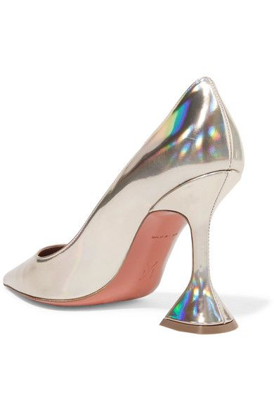 8bdb2c04e Amina Muaddi - Ami iridescent leather pumps | Pump Style | Leather ...