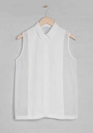 & Other Stories | Minimal + Chic | @CO DE + / F_ORM: & Other Stories, Minimal White, Italian, White Shirts, Inspiration Grace, Tanks Shirts, White Blouses, Minimal Chic, Shirts Blouses Dresses