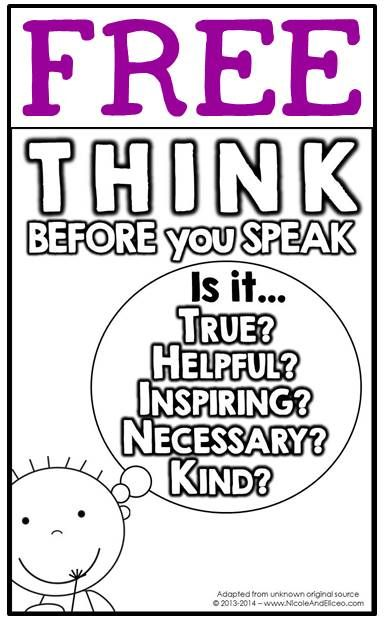 classroom behavior coloring pages - photo#31