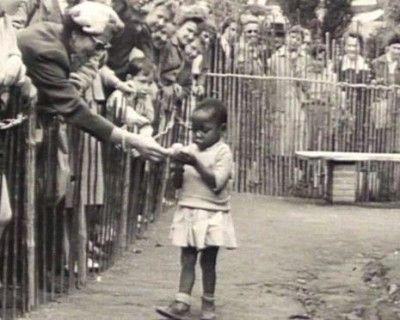Throughout the late 19th century, and well into the 1950′s, Africans and Native Americans, were kept as exhibits in zoos. One example of the sad human history of racism, of colonizers seeing themselves as superior to others, is the long history of human zoos that featured Africans and conquered indigenous peoples, putting them on display in much the same way as animals.