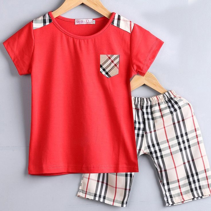 Baby Boy Tartan Shirt & Shorts