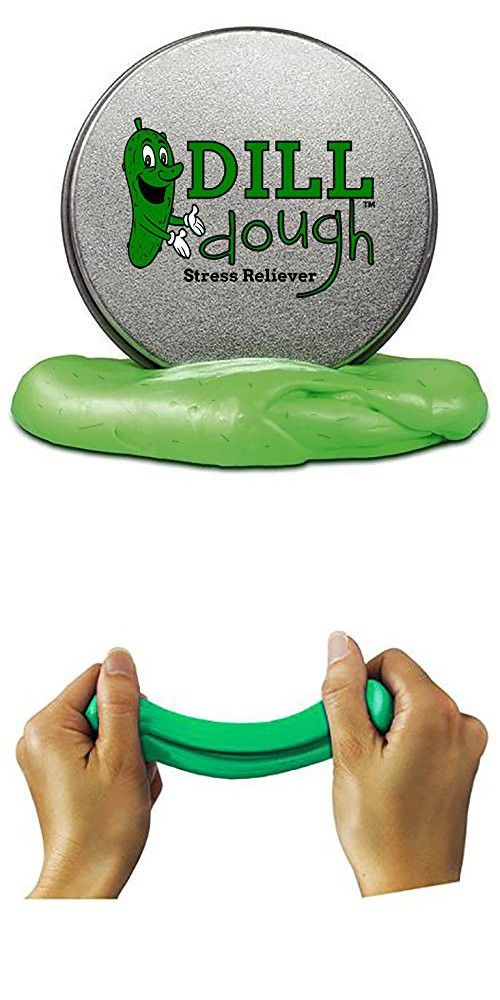 Dill Dough Stress Reliever Putty Stress Relief Toys for Girlfriends Funny Pickle Gifts Stocking Stuffers for Adults Stocking Stuffers for Women Dill Scented Stress Putty Weird Best Friend Gifts