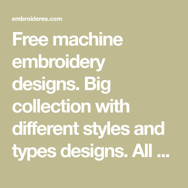 286 best Machine Embroidery Designs images on Pinterest
